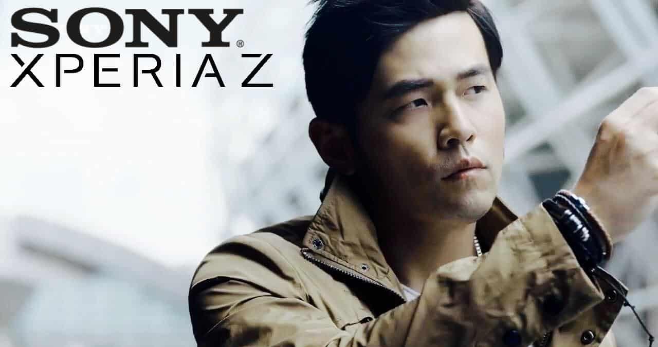 Sony Xperia Z:周杰倫代言